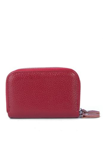 HAPPY FRIDAYS Multifunctional Litchi Grain Leather Wallet JN509 34FD2AC00241C4GS_1