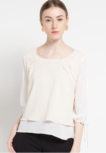 WHITEMODE white Lexie Blouses & Tunics WH193AA91EMQID_1
