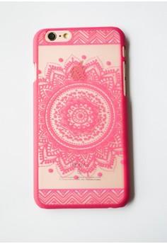Mandala Hard Transparent Case for iPhone 6/6s