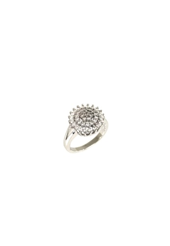 LOVE AND LIFE white Cubic Zirconia Fashion Ring (HSR0027) EE97DACD41AE68GS_1