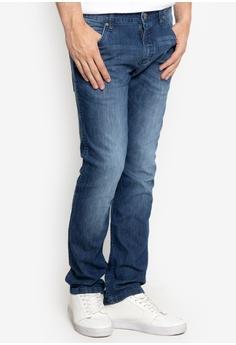 c111ba68 Wrangler blue Low Rise Slim Straight Five Pocket Jeans 882E0AA937D495GS_1