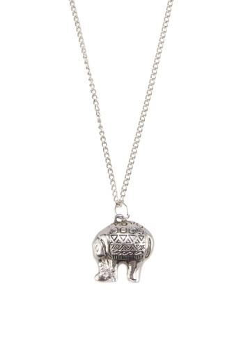 民族風大象墜飾長項salon esprit鍊, 飾品配件, 飾品配件