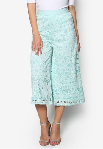 Cuesprit 價位twork Palazzo Pants, 服飾, 長褲及內搭褲