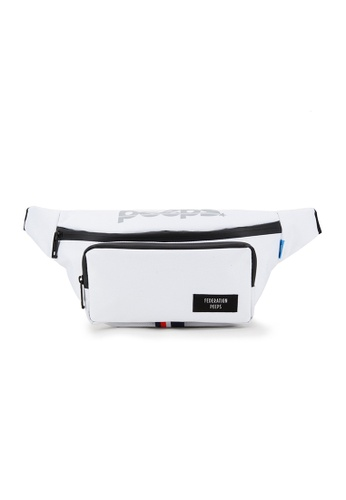 Peeps white Run and Gun Waist Bag 1E333ACD01015EGS_1