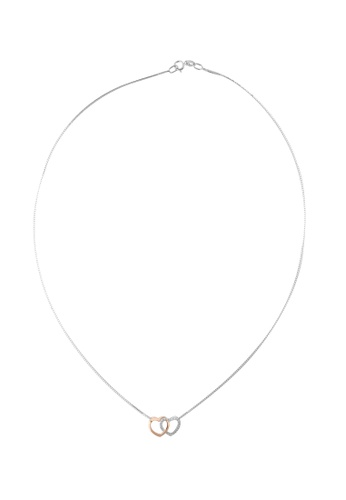 GOLDHEART gold GOLDHEART Pendant Set, Diamond White Gold 585 (P6133) C8D2AAC4124A16GS_1