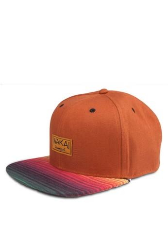VIAJESNAPBACK 漸層撞色鴨舌esprit 請人帽, 飾品配件, 鴨舌帽