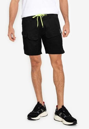 Sparrow Green 黑色 Kansas 短褲 6DA65AA513364FGS_1