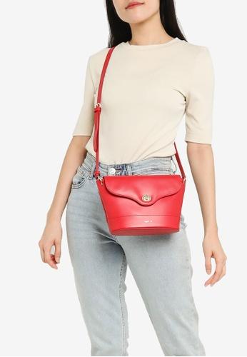 agnès b. red Shoulder Sling Bag 79DF4AC41E7018GS_1