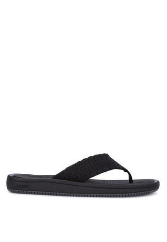 ALDO black Haoen Sandals 53644SH373AC41GS_1