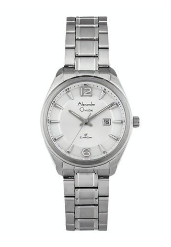 Alexandre Christie silver Alexandre Christie Jam Tangan Wanita - Silver - Stainless Steel - 8583 LDBSSSL 0B6C6ACEFDBE25GS_1