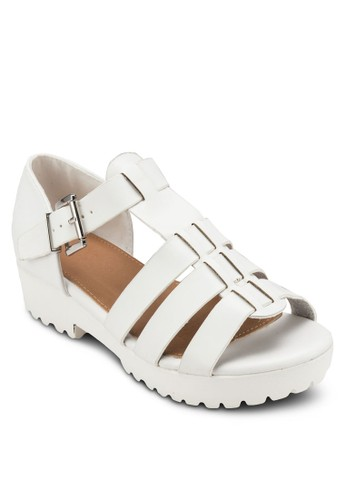 Gilmore 羅馬厚底低跟涼鞋, 女鞋, esprit門市鞋