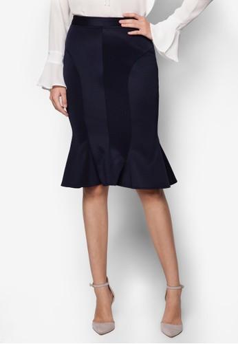 Roxanne 魚尾鉛筆裙,esprit 台中 服飾, 迷你裙