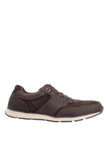 Hush Puppies brown Hush Puppies Men's Deshler Casual Sneaker - Brown ED556SH3C3A5EDGS_1