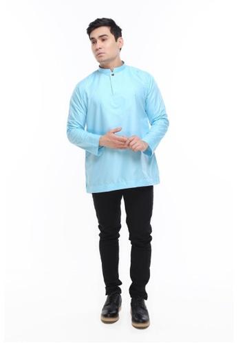 Amar Amran blue Kurta Al Idrus 2.0 1962AAA37C98D8GS_1