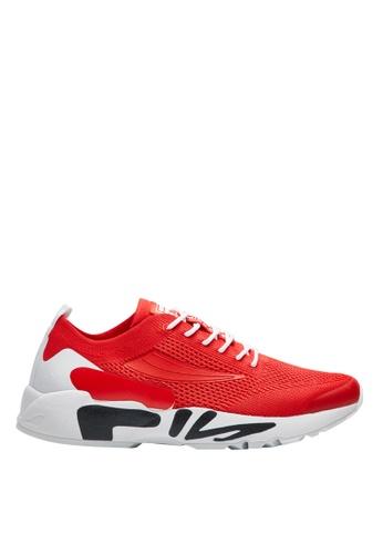 Fila red RJ-Retro Jogger Shoes 00B3BSH1E9F182GS_1