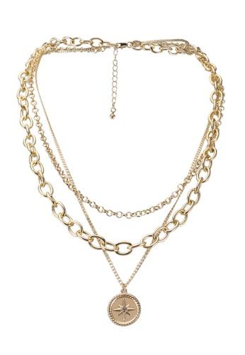 Pieces gold Ninka Combi Necklace 2FC33AC1C7983EGS_1