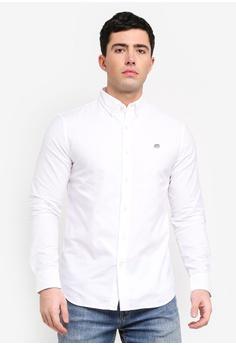 9727e5bb474 Banana Republic white Standard Fit Oxford Shirt F3A73AA3920989GS 1