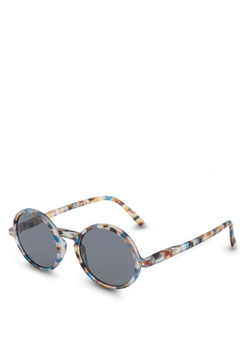 5d55a7e57e Izipizi blue SUN LetmeSee #G Blue Tortoise Grey Lenses +0.00 Sunglasses  BE395GL9751CB2GS_1