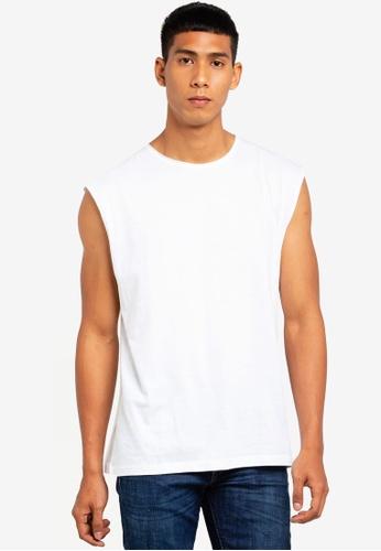 Brave Soul 白色 無袖T恤 00A4FAA45F7FBBGS_1
