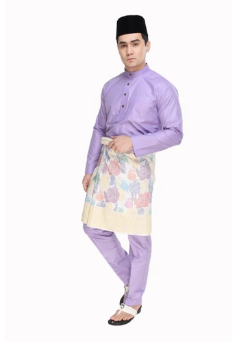 Amar Amran purple Baju Melayu Moden 24872AA4BB94BCGS_1