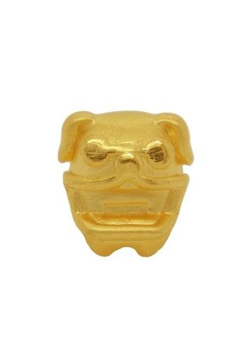 LITZ gold [Free Bracelet] LITZ 999 (24K) Gold Dog Charm EPC0445 (1.20g) 503F9ACD412B45GS_1