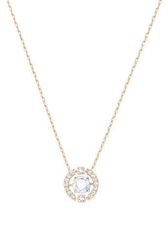 en plating gold product medium online shop web swarovski us rose necklace white dear jewelry