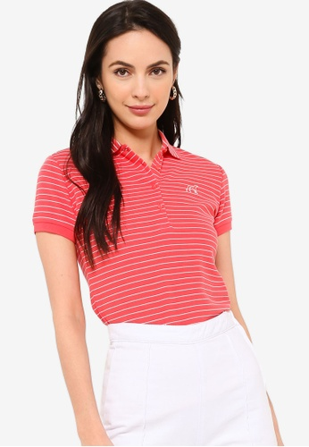 Sacoor Brothers pink Women's Sports Slim Fit Polo Piqué 22A12AACE2E912GS_1