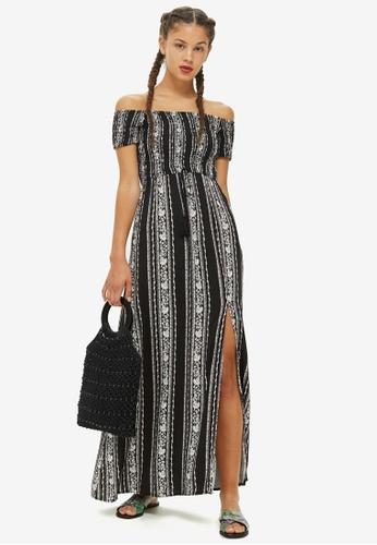 TOPSHOP multi Bardot Dress By Band Of Gypsies BDF39AA0F08BF0GS_1