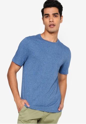 Banana Republic blue Short Sleeves Soft Wash Organic Crew Tee DCCB0AA66A467EGS_1