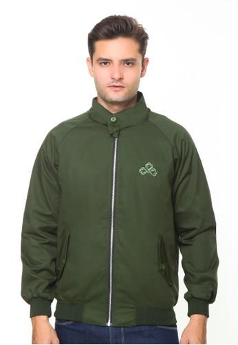 Endorse green Endorse Jacket I Harrington Army Green - END-RH006 2052AAA9445360GS_1