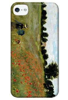 Monet Landscape Matte Hard Case for iPhone 4,4s