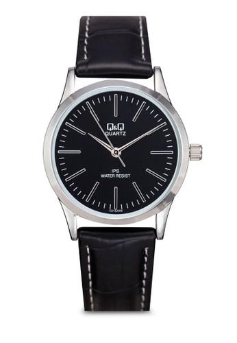 Q&Q C213J301Y 經典仿皮手錶, 錶類, 其esprit hk它錶帶