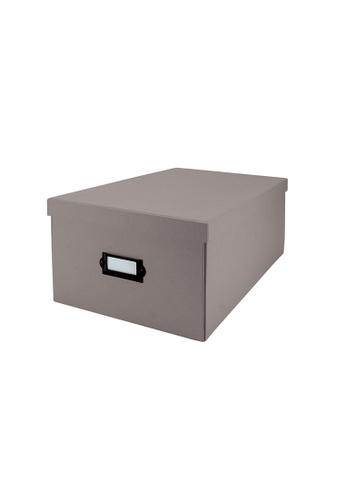 Milton Home grey Milton Home MH BD0499-G Magic Box (M)  35X24X16 / Home Organizer / Space Saver / Storage 67D35HL6920432GS_1