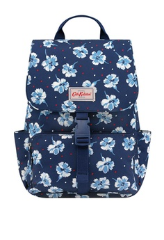 51a07570c0 Cath Kidston blue Fairfield Flowers Buckle Backpack 7202DAC366CA8DGS 1