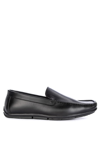 Itti black Formal Slip Ons 544F0SHCEECDD3GS_1