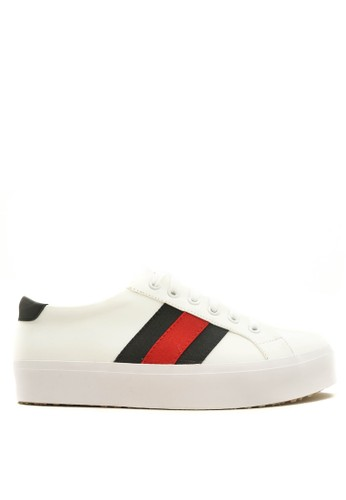 CDE white Cruise Women Sneaker White-Black CD965SH21BZAID_1