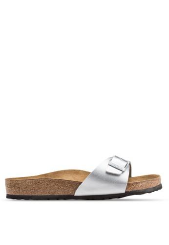 Madresprit 眼鏡id 扣環一字帶拖鞋涼鞋, 女鞋, 鞋