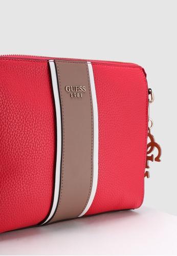 b24844955fe5 Buy Guess La Hip Crossbody Top Zip Bag