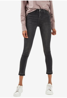 32a20ac3826 TOPSHOP black Moto Washed Black Jamie Jeans 20469AABF47A70GS 1