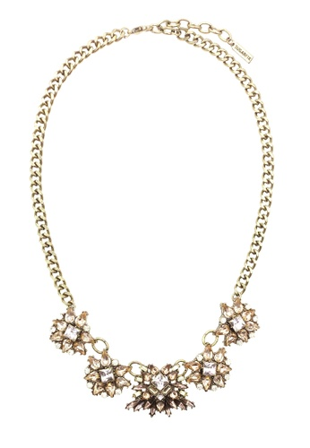 LUCCACAL gold Crystal Bouquet Statement Necklace 4E2ABAC66C7860GS_1