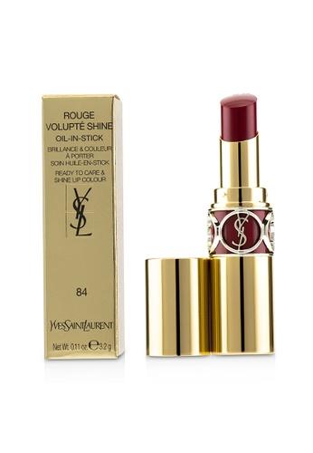 yves saint laurent YVES SAINT LAURENT - Rouge Volupte Shine - # 84 Rouge Cassandre 3.2g/0.11oz CC1F1BEE042BF3GS_1
