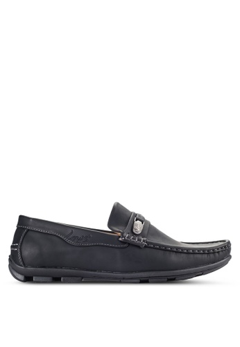 Louis Cuppers black Casual Loafers LO977SH06VONMY_1