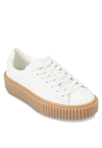 Cesprit 會員reeper 厚底布料運動鞋, 女鞋, 鞋