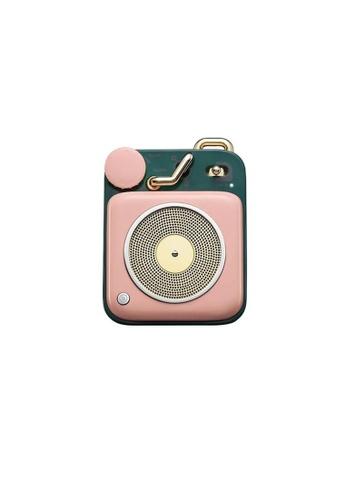 MUZEN pink Muzen Button Pink Bluetooth Portable Speaker. B508EES8ACA667GS_1