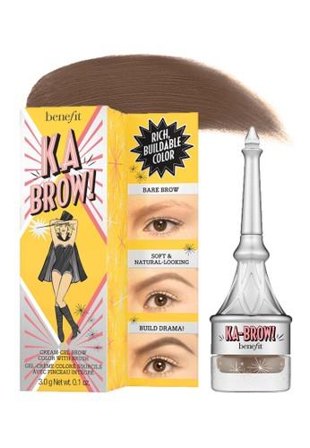 Benefit brown Benefit ka-BROW! Eyebrow Cream-Gel Color - Shade 04 (Medium) 9B7D1BE2110FB3GS_1