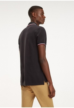 5e3c3a90 20% OFF Tommy Hilfiger Tommy Tipped Slim Polo RM 469.00 NOW RM 375.20 Sizes  S M L XL XXL