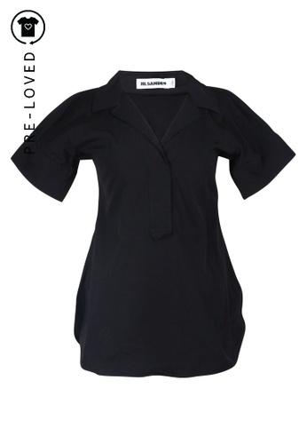 Jil Sander black Pre-Loved jil sander Black Shirt 38EA5AAAF4A6D6GS_1