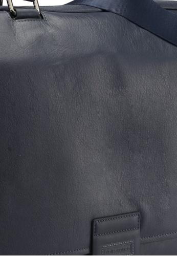 Volkswagen blue and navy Volkswagen Genuine Leather Satchel Bag VO089AC0SMAGMY_1