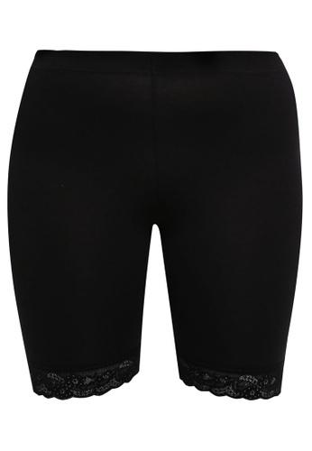Junarose black Plus Size Newlennon Cycle Shorts 4C109AA5BDF286GS_1