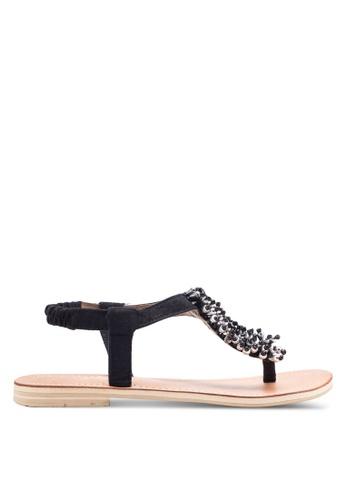 Sulima black Black Sprinkle Sandal SU915SH65VPEMY_1